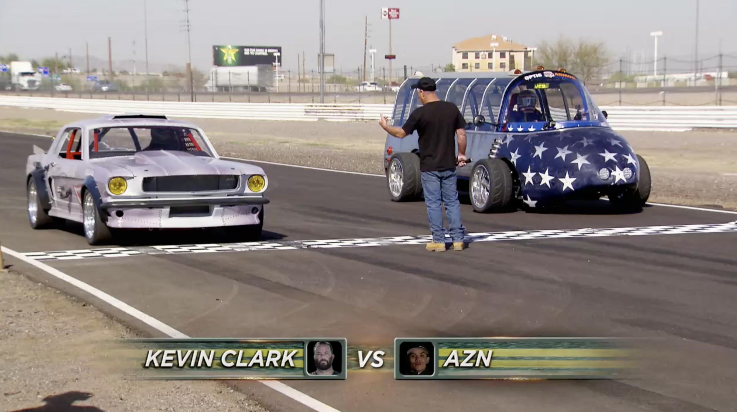 street outlaws vs gas monkey mega race 1